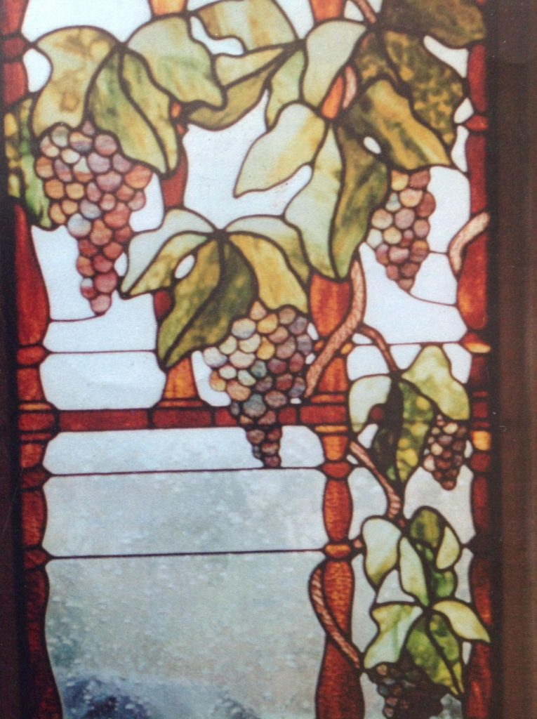 grape vines window